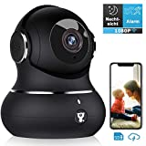 berwachungskamera, Littlelf WLAN IP Kamera 1080P HD WiFi Kamera mit 360Schwenkbare Baby Monitor,...