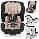 KIDWELL Autositz 0-36 kg | 0-12 Jahren | Gruppe 0+ / 1/2 / 3 | Kindersitz mit 5-Punkt-Gurtsystem &...