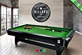 Pool-/Billardtisch, grn, fr Innenrume, 2,13 m