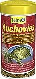 Tetra Anchovies (Wasserschildkrötenfutter, Naturfutter mit kleinen ganzen getrockneten Fischen), 1...