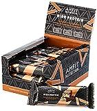 Amazon-Marke: Amfit Nutrition Proteinriegel mit niedrigem Zuckergehalt (19,6gr Protein - 1,6gr...