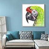 yhyxll Nordischen Stil Leinwand Malerei Aquarell Tier Poster und Drucke Papagei Wandkunst Bilder...