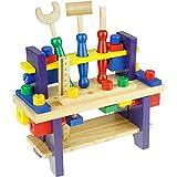 YUANGUANG 2-5 Tage Lieferung,Werkzeug Werkbank Kinder, Werkzeugkasten Holz Multifunktionale...