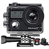 AKASO Action Camera/ 4K 20MP Action Kamera/Unterwasserkamera mit Bildstabilisierung Zoom...
