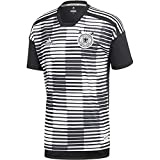 adidas Herren DFB Pre-Match Shirt T, White/Black, XL