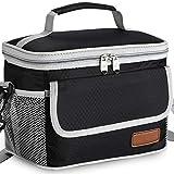 DEFWAY Isolierte Lunchtasche für Erwachsene – auslaufsichere Kühltasche für Männer und Frauen,...