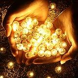 OSALADI LED Runde Ball Ballon Licht, Superbright Mini Ballon Licht, Ball Lichter für Papierlaterne...