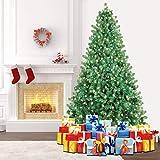 SHareconn Künstlicher Weihnachtsbaum Premium Spruce mit Stabilem Ständer und 400 Beleuchtung LED,...