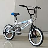 XIAOSHAN 16' 16 Inches Freestyle BMX Bike for Kids 1.0-1.6 Meter Taller Height Height 113CM Wheel...