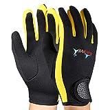Tbest 1 Paar Wassersporthandschuhe 1,5 mm Dicke Neopren-Tauchhandschuhe Tauchhandschuhe Schnorcheln...