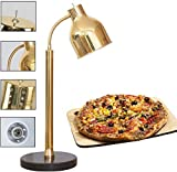 LCNING Lebensmittel Wrmelampe mit justierbarem Universalschlauch Marmor Basis for Buffet Cafeteria...