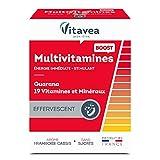 Vitavea - Multivitamine Boost - Sofortige Energie - Guarana + 19 Vitamine und Mineralien - ohne...
