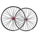 26 Zoll Fahrrad Laufrad Vorderrad, Hohlkammerfelge Aluminiumfelge Schnelle Veröffentlichung Hybrid...