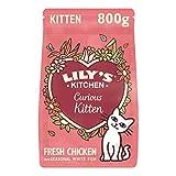 Lily's Kitchen Trockenfutter mit Hühnerfleisch und Kräutern für junge Katzen (4 x 800g)