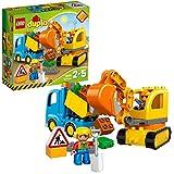 LEGO Duplo 10812 - Bagger und Lastwagen, Ideales Geschenk fr 2 Jhrige