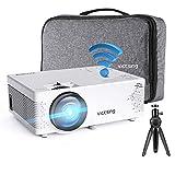 Mini Beamer, VicTsing WiFi Beamer Full HD mit Bluetooth, 4500 Lumen, Support 1080P Handy Projektor,...