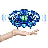 UTTORA UFO Mini Drohne,Drohne Für kinder Kinder Spielzeug Handsensor Quadcopter Infrarot-Induktion...