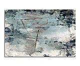 Paul Sinus Art 120x80cm Leinwandbild Leinwanddruck Kunstdruck Wandbild grau braun schwarz beige...