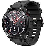 O'woda Smartwatch, Fitness Armbanduhr mit Pulsuhr Schlaftracker, 1.3' Voller Touchscreen Sportuhr...