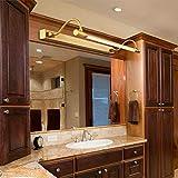 Einfach Led Badezimmer Spiegellampe,Wandleuchte Badezimmer Make Up Front Licht Kupfer Acryl...