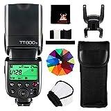 GODOX TT600S Kamera Blitzgerät 2.4G GN60 Speedlite Blitz Kompatibel mit Sony Kameras mit MI...