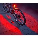 FISCHER Twin Fahrrad-Rücklicht mit 360° Bodenleuchte für mehr Sichtbarkeit und Schutz,...