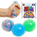 ZaxiDeel Antistressball 3 STK. Knautschball für Kinder und Erwachsene - Stressball zum Kneten,...