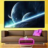ganlanshu Heie Moderne kleine Raum rahmenlose Malerei 60cmX90cm