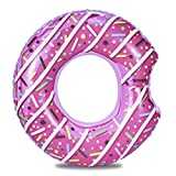 Aufblasbarer Donut Schwimmring Riesenpool Float Toy Circle Beach Sea Party Aufblasbare Matratze...