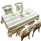 N/X Dekorative Tischdecke Tischdecke Rechteckiger Esstisch Mantel Mesa Tischdecken