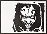 Darth Maul STAR WARS Poster Plakat Handmade Graffiti Street Art - Artwork