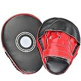 YOTINO Pratzen Trainerpratzen PU Handpratzen Pratze Kickboxen Boxen für Muay Thai Kickboxen...