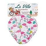Rex International stylischer Fahrradsattelbezug Flamingo