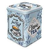 Nostalgic-Art 31302 Retro Teedose Classic Tea – Geschenk-Idee für Nostalgie-Fans, Aufbewahrung...
