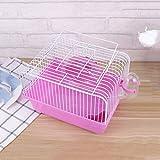 PRJEDLK Hamster Cage Travel Carry Rattenkäfig Kleine Haustiere Zubehör Hamster Toy Zubehör