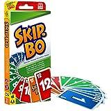 Mattel Games 52370 Skip-Bo Kartenspiel und Familienspiel geeignet fr 2 - 6 Spieler, Spiel ab 7...