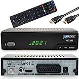 Anadol HD Sat Receiver 888 mit Aufnahmefunktion für Satelliten Fernsehen - PVR, Timeshift, HDMI,...