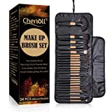 Make up Pinsel Set, 24 Pcs Professionelle Makeup Pinselset Premium Synthetische Pinsel Pulver...