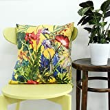 Gillian Arnold Summer Tropics Sofakissen, Gelb, 70cm Floor Cushion