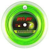 PROS PRO Eruption Tennissaite - 200m Rolle - 1.24mm - Grn