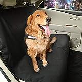 Greensen Hunde Autoschondecke Wasserdicht Haustier Sitzbezug mit Seitenschutz & Reißverschlüsse...