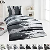 Dreamhome  Warme Winter Microfaser Thermo Fleece Bettwäsche 135x200 155x220 200x200 Moderne, Design...