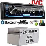 Autoradio Radio JVC KD-X472DBT | DAB+ | Bluetooth | USB | Android | iPhone | Spotify | 4x50Watt -...