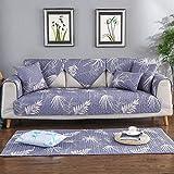 nohbi Sofa elastische Stretch Sofabezug,Vier Jahreszeiten Universal Wohnzimmer Sofakissen,Baumwolle...