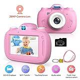 Kinderkamera, 28MP HD Video-Digitalkamera fr Kinder, 3,0 Zoll IPS HD 1080P Touchscreen & Untersttzt...