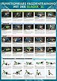 Funktionelles Faszientraining mit der BLACKROLL®: Großes DIN-A1-Poster mit 30 Übungen für...