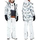 Acant Damen Skianzüge Im Freien Winddicht wasserdichte Snowboard Jacke Warme Atmungsaktive Skihose...
