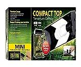 Exo Terra Compact Top, Terrarienabdeckung, Mini, für 1 Lampe, mit Reflektor, 30 x 9 x 12,5cm,...