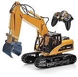 Top Race 15-Kanal-Fernbedienung RC Gabelbagger, Construction Greifer Gabel Traktor Metall Gabel....