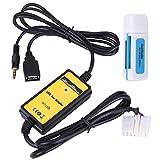 Gorgeri Aux-In Adapter, Auto USB Aux-In Adapter MP3-Player Kabel Radio Audio-Schnittstelle fr RAV4